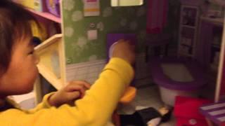Suah's New Kidkraft Majestic Dollhouse