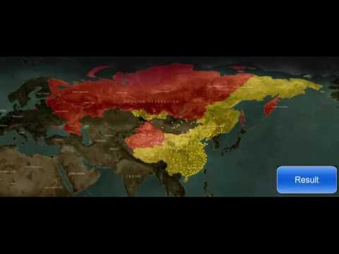 RUSSIA VS CHINA War Simulation