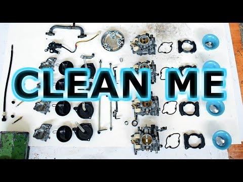 How to clean MOTORCYCLE carburetors, thoroughly!