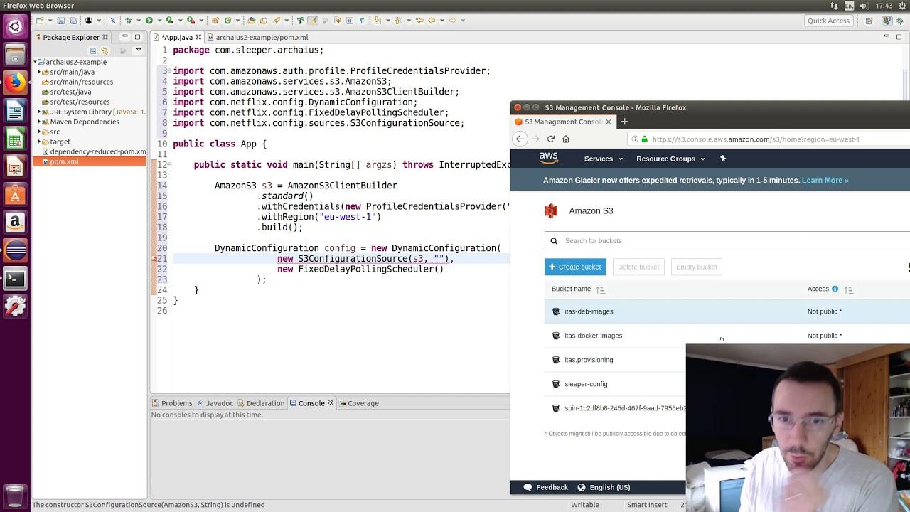 Archaius - S3 config - Netflix OSS tutorial [part 5]