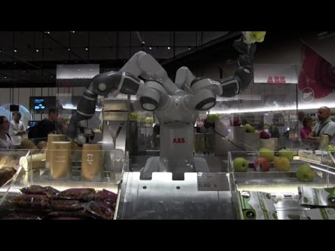 A Expo prove di futuro con i robot industriali di Abb