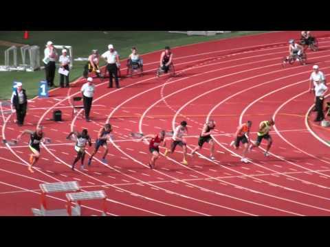 100M Semi3 Trae Williams 10.36 Australian Championships 2015