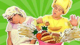 فوزي موزي وتوتي - التيتا فوزية والكعكة - Disgusting Cake