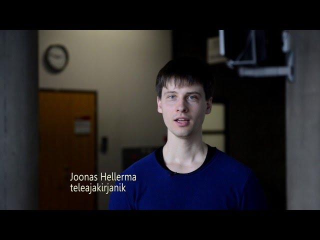 Joonas Hellerma, konverentsil