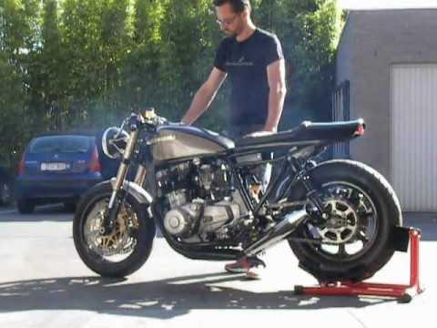 "motokouture café racers & customs mk#5 ""bull"" first start - youtube"