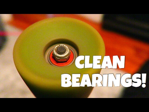 How To Clean Your Skateboard Bearings! Vlog #112