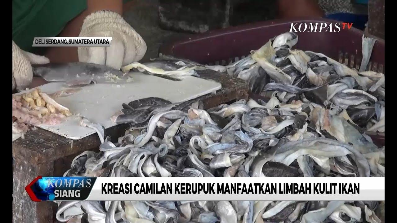 Peluang Bisnis Modal Kecil Dengan Kerupuk Kulit Ikan