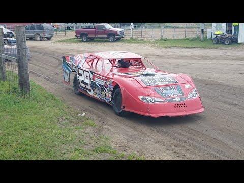 🔴Jeff Crouse Racing Live🔴  Fiesta City Speedway.   Heat race.  8/9/17