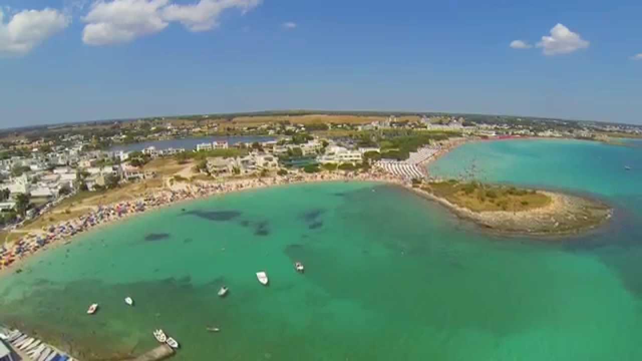 Matrimonio Spiaggia Porto Cesareo : Porto cesareo video aereo spiagge e cittadina youtube