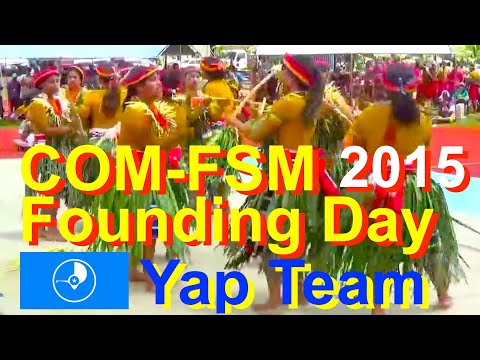 Yap Team, College of Micronesia-FSM Founding Day 2015