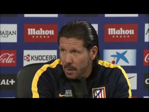 "Copa del Rey: Diego Simeone: ""Real Madrid ist Favorit"" 