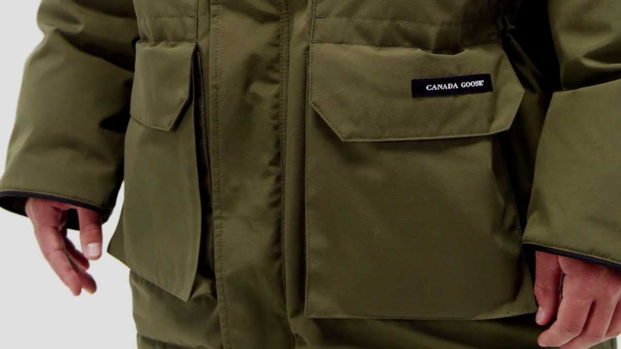 Canada Goose toronto outlet official - Canada Goose Men's Expedition Parka - YouTube