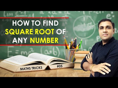 Square Root Tricks/Shortcuts/Formula | Square Root Problems Tricks I Math Trick