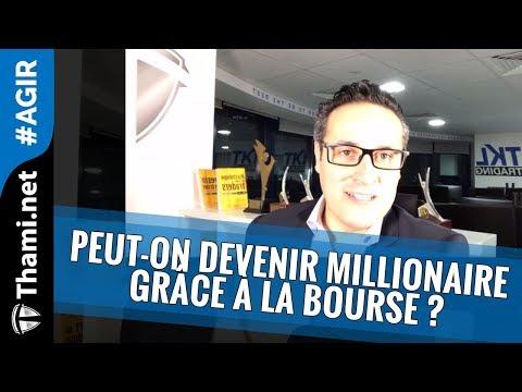 Peut-on devenir millionaire grâce à la #Bourse ? [REPLAY]