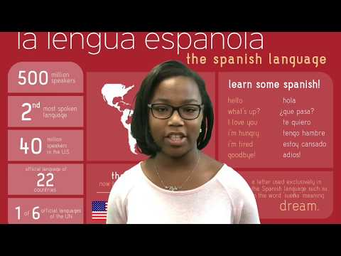 Students talk about Spanish DLI