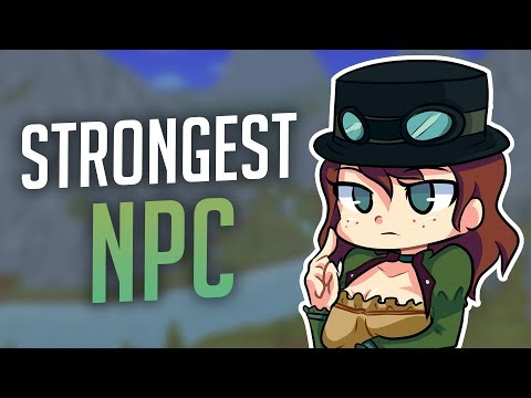 Which NPC is the Strongest Against Bosses? - Terraria 1.3
