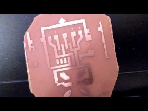 DIY Printed circuit board using Negative Photoresist - metal detector circuit
