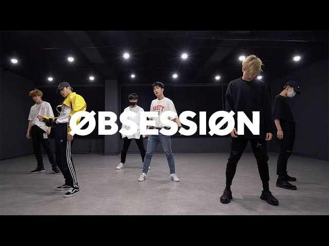 엑소 EXO - OBSESSION (Boys ver.) | 커버댄스 DANCE COVER  | 안무거울모드 MIRRORED | 연습실 PRACTICE ver.