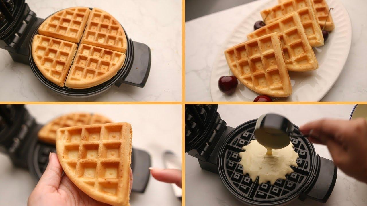 الوافل بأبسط طريقة ومقادير 🧇 وكل الأسرار اللي تخليه هش و مقرمش! Waffles
