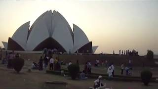 LOTUS TEMPLE (BAHAI HOUSE OF WORSHIP) (ARCHITECT: FARIBORZ SAHBA) NEW DELHI -DELHI -110019 U.T INDIA