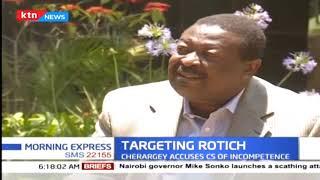 Senator wants CS Rotich axed from treasury