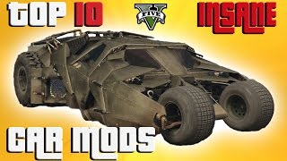 GTA 5 Top 10 INSANE vehicle mods. Grand theft auto 5 mods. This vid...