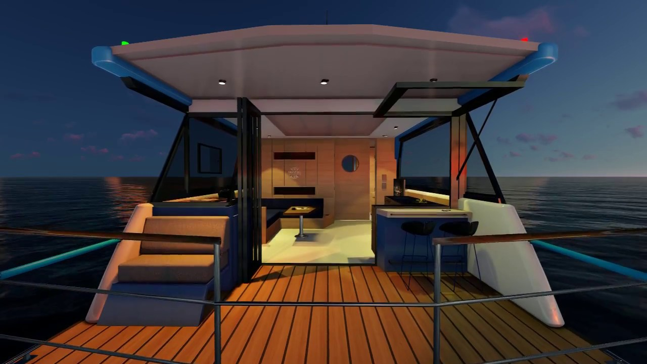 hausboot mit elektroantrieb kaufen 2017 youtube. Black Bedroom Furniture Sets. Home Design Ideas