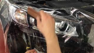 видео Покрытие кузова легкового автомобиля защитной пленкой