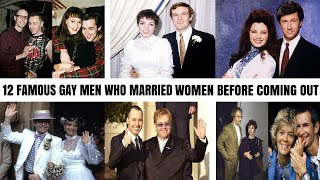 Download 12 Famous Gay Men Who Married Women Before Coming Out As Gay Mp3 and Videos