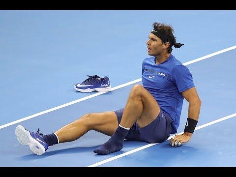 Umpire PRICELESS reaction to RAFA Nadal's EPIC FALL, China Open 🎾 Like in Miami, Rafa loses his Nike