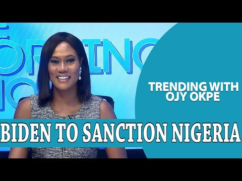 Biden to Sanction Nigeria + Lekki Protest: Group Plans to Disrupt Protest -Trending with Ojy Okpe