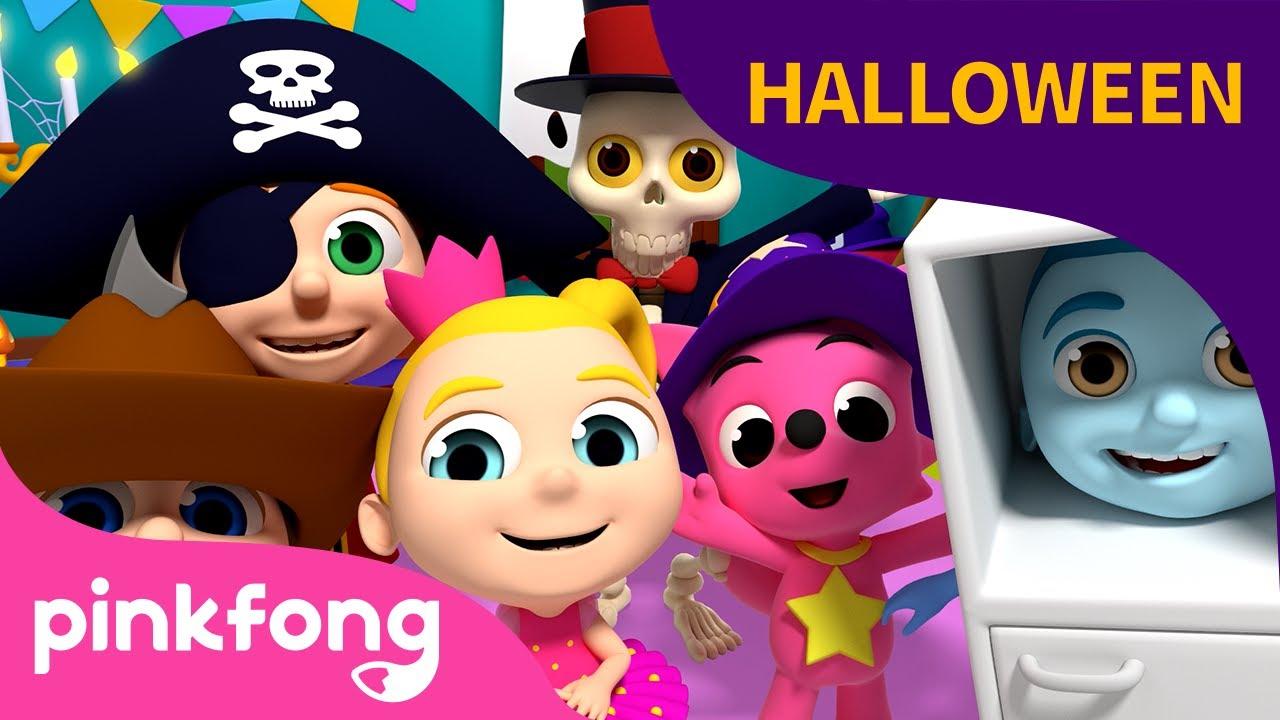 Fiesta de Disfraces de Halloween | Canciones de Halloween | Pinkfong Canciones Infantiles
