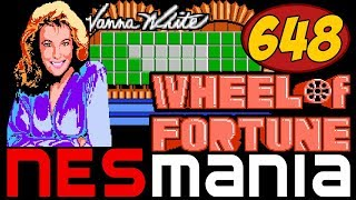 648/714 Wheel of Fortune: Featuring Vanna White - NESMania