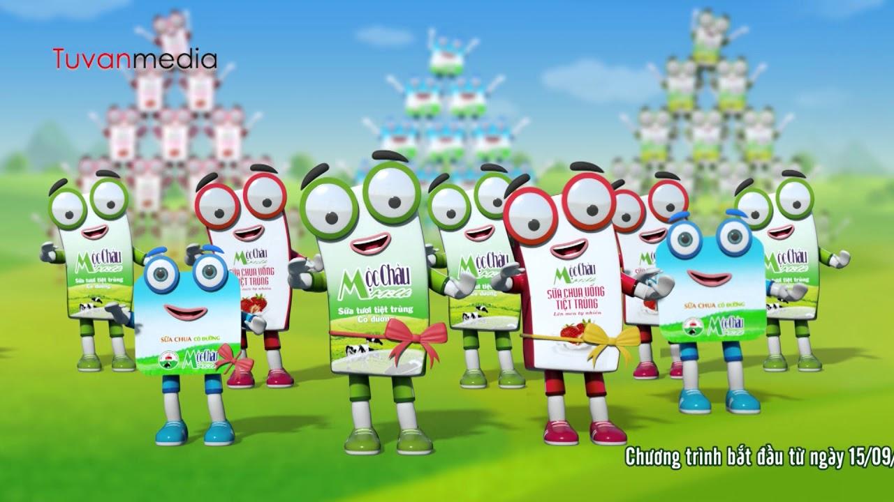 TVC quảng cáo sản phẩm sữa Mộc Châu – Hoa hậu bò sữa Mộc Châu – Tuvanmedia