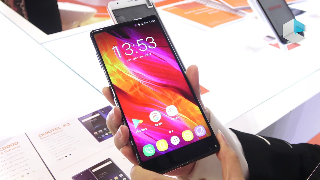 Image result for 9. Oukitel MIX 2