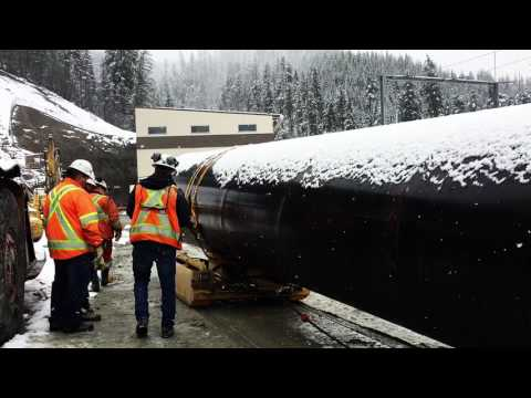 Upper Lillooet Hydro Tunnel - Pipe Carrier Site Testing