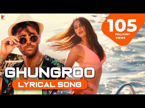 Lyrical  Ghungroo Full Song  War  Hrithik, Vaani, Arijit Singh, Shilpa  Vishal & Shekhar, Kumaar