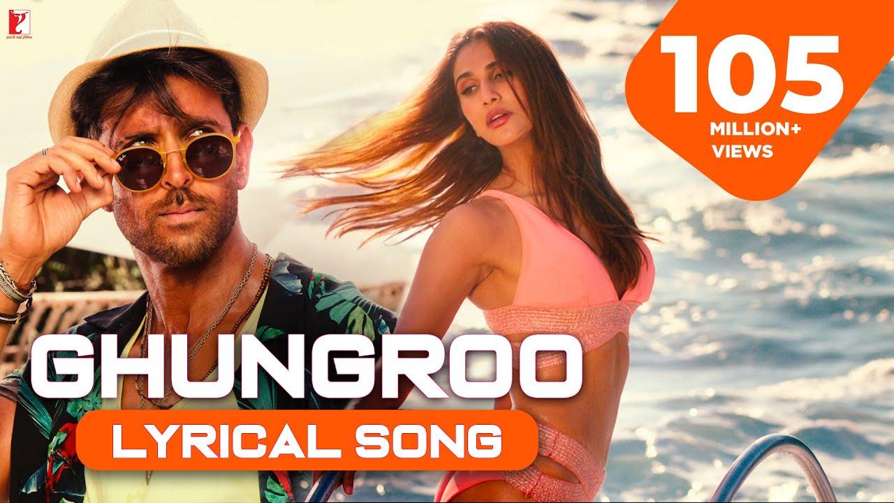 Download Lyrical   Ghungroo Full Song   WAR   Hrithik, Vaani, Arijit Singh, Shilpa   Vishal & Shekhar, Kumaar
