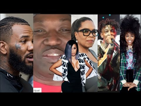 Celebs React To Cardi B Putting Out Her Album, Oprah, The Game, 21 Savage, Project Pat SZA All LIKE