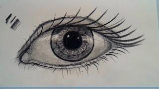 kara kalem / göz nasıl çizilir / karakalem göz nasıl çizilir / sanatın renkleri / resim /