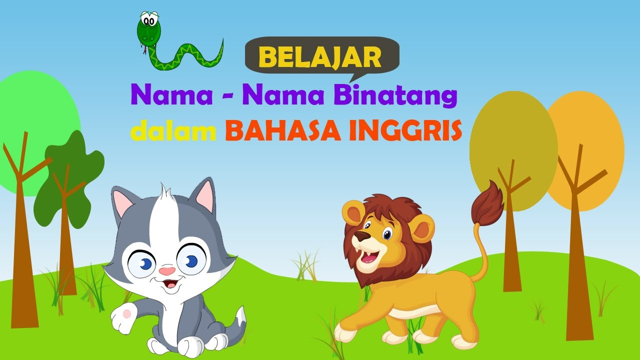 Learning Names Of Animals In English