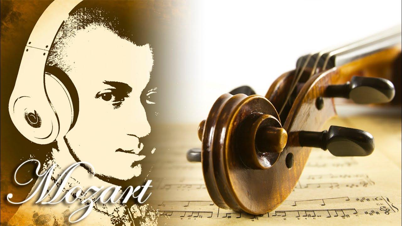 Música Para Trabajar Y Concentrarse Y Memorizar Mozart Música Clásica Relajante De Violin Youtube
