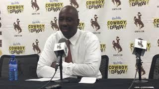 Wyoming coach Allen Edwards discusses exhibition win, rotation heading into regular season