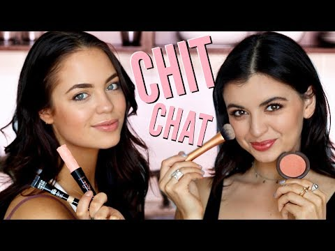 CHIT CHAT Get Ready with Me & Rebecca Black!!