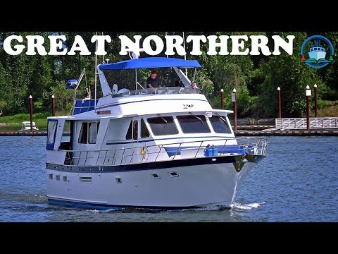 Trawler for Sale – Defever 53 – GREAT NORTHERN - Offered by Jeff Merrill Yacht Sales, Inc.