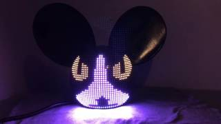 Led deadmau5 head Casco led De Dj De Venta For Sale