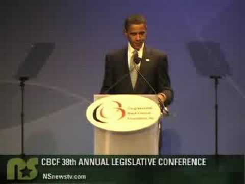 Sen. Obama Accepts Harold Washington Award