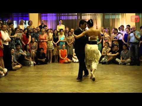 "Sebastian Achaval and Roxana Suarez, 2, Moscow, Milonga ""El Color"" 28.06.2013"