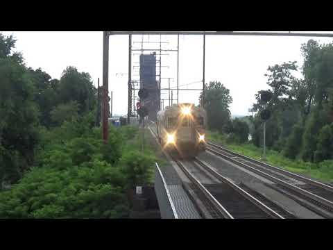 Pennsauken Railfanning 7/5/19