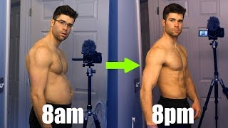 How I Lost 10lbs iฑ 1 Day - Lose Weight Fast